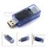 USB电流电压检测仪-透明蓝-D+D-